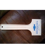 Chevrolet Yellow Ice Scraper from Worth Motor Car Co in Beverly NJ - $15.00