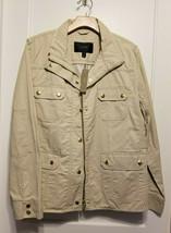 J.CREW Women's The Downtown Field Jacket, Cotton, Canvas/Eggshell, Size ... - $133.20