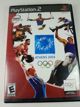 Athens Summer Olympics 2004 PlayStation 2 PS2 #SCUS 97379 - $9.97