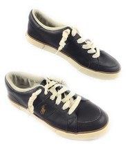 Polo Ralph Lauren Hanford Dark Brown Leather Deck Boat Sneakers Shoes Me... - $19.75