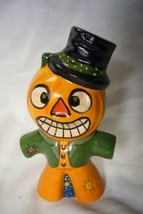 Vaillancourt Folk Art, Pedro the Pumpkin Man  Signed by Judi Vaillancourt image 1