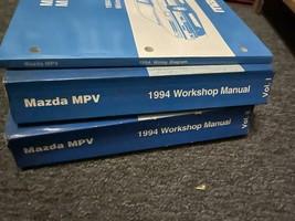 1994 Mazda MPV Van Service Repair Shop Workshop Manual Set W EWD OEM - $39.55