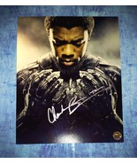 Chadwick Boseman Hand Signed Autograph 8x10 Photo COA Black Panther - $499.99