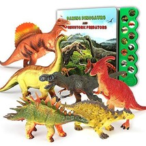 Olefun Dinosaur Toys for 3 Years Old & Up - Dinosaur Sound Book & 12 - $40.34