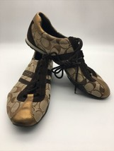 Womens Brown Kate Coach Tennis Shoes Size 9M* Classic Style & Colors - $29.69