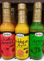 Grace Jamaican Hot Pepper Sauce 4.08oz Gift Pack - $18.69