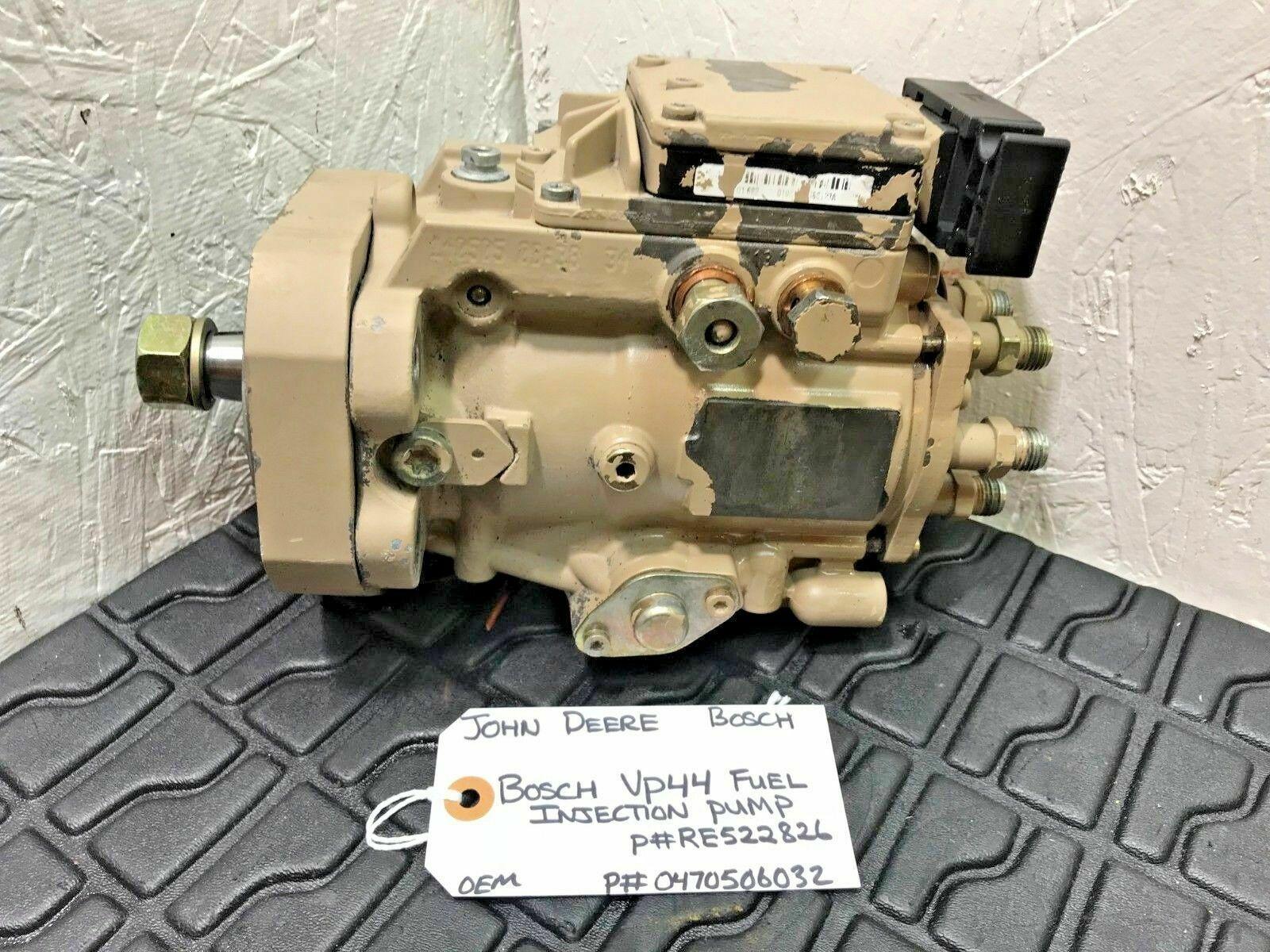 JOHN DEERE 6068 Bosch Diesel Fuel Injection Pump 0470506032 RE522826 OEM