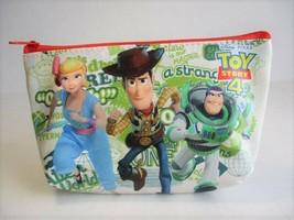 Disney Pixar TOY STORY Buzz Lightyear, Woody & Bo Peep Zippered Cosmetic... - $11.40