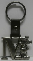"""Disney Mickey Mouse Letter """"M"""" Pewter Keychain - $8.59"""