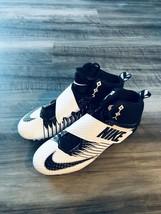 Nike Strike Pro Football Cleats Size 14 Black White New - $53.45
