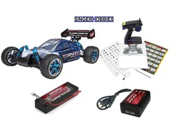 RedCat 1/10 Tornado EPX PRO 4WD Radio Control Buggy Brushless w LIPO RER... - $229.00