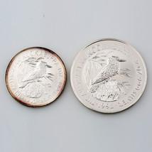 1990 .999 Silver 1 oz. Australlian Kookaburra $5 1992 .999 Silver 2 oz. $2 coin - $222.75