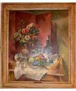 ANTIQUE VINTAGE ARTIST WALTER VLADIMIR ROUSSEF 1935 OIL PAINTING ON CANVAS - $10,000.00