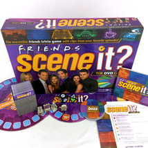 Friends Scene It Board Game First Edition DVD Trivia Complete Pewter Tokens 2005 - $37.00