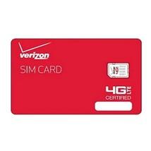 Verizon Nano Sized SIM Card 4G LTE, 4FF NFC - Samsug Galaxy S6, S6 Edge, Android - $8.43
