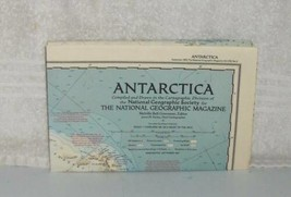 National Geographic Map Of Antarctica September 1957 - $12.34