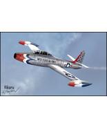 1/144 scale Resin Kit Republic F-84G Thunderjet USAF Thunderbirds - $16.00