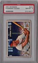 1951 Bowman Thurman Tucker #222 PSA 8 P570 - $70.55