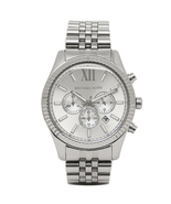 Michael Kors MK8405 Lexington Silver Tone Stainless Steel Men's Watch - $334.48