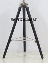 NauticalMart Classical Black Wooden Tripod Stand For Small Searchlight   - $99.21