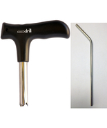 CocoDrill Coconut Opener Tool + Stainless Steel Straw - Opening Coco Wat... - $10.99