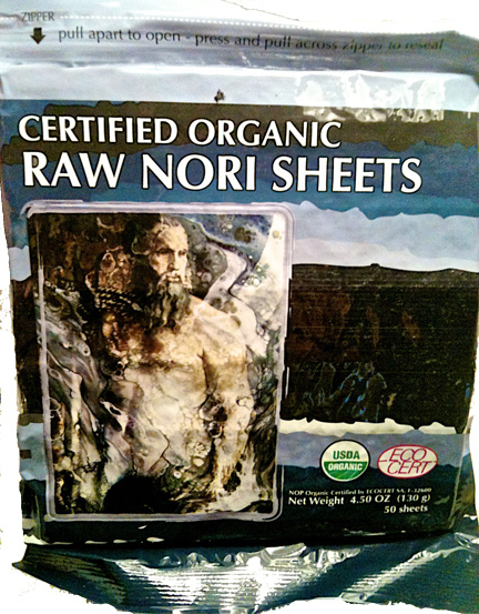 Raw Organic Nori 50 Sheets non Toasted Paper + Coconut Opener Tool Knife Tap