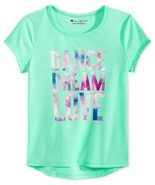 Champion Girls Toddler & Little Dance Dream Love Graphic-Print T-Shirts - $12.88