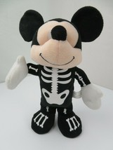 """Mickey Mouse Skeleton Musical Dancing 13"""" Animated Disney Toy - $19.79"""
