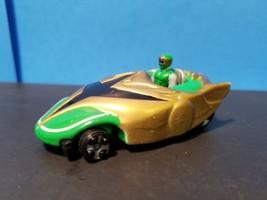 Bandai 2002 Green Power Ranger Diecast Car with Mini Figure  - $9.69