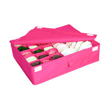 Storage Boxes For Ties Socks Shorts Bra Underwear Divider Drawer Home Or... - €13,40 EUR