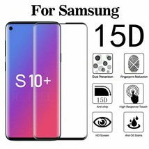 15D Curved Tempered Glass Screen Protector For Samsung S10 Lite S10 Plus Glass - $11.99