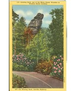 Leaning Rock, Western North Carolina, On Blowing Rock, Linville Highway ... - $3.99