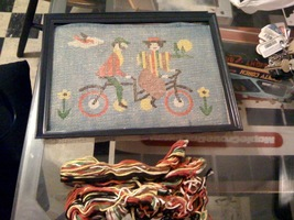 Horse and Buggy & Horse & Carriage Needlepoint Kit - $18.00