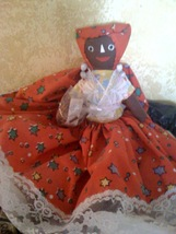 Jamican Hand Made Doll - $15.00