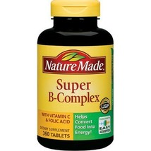 Nature Made Super B-Complex with Vitamin C and Folic Acid - 360 Count - $29.99