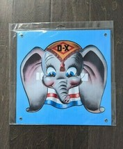 "12"" Disney Dumbo elephant DX oil gas retro repro USA STEEL plate display... - $68.60"