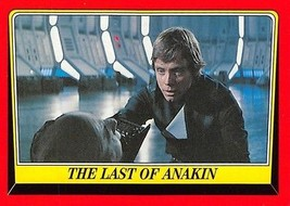 2004 Topps Heritage Star Wars #63 The Last Of Anakin > Darth Vader > Luke - $0.99