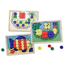 Melissa & Doug Sort and Snap Color Match - Sorting and Patterns Educatio... - $29.00