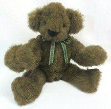 """Vintage 1984 Vermont Teddy Bear Co Brown 15"""" Plush Seated Classic Stuffe... - $69.95"""