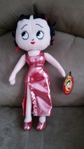 2016 BETTY BOOP VALENTINE'S DAY RED DRESS Brand New Licensed Plush NWT T... - $11.99