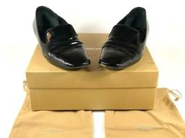 Michael Kors Collection Donna 37.5 Vernice pelle Mocassini Rilievo Lingua Square - $23.03