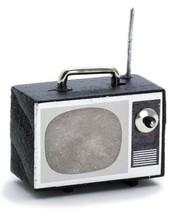 DOLLHOUSE MINIATURE PORTABLE TV SET #RA0130 - $4.46