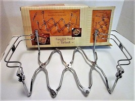 """Expandable Handled Trivet to Carry 9"""" x 13"""" Hot Dish - NEW in Original Box - $6.99"""