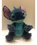"Disney Stitch Plush 14"" Stuffed Animal Lilo Stitch As a Dog 14"" Sitting ... - $14.95"