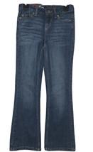 SO jeans girls boot cut adjustable waist Medium wash Stretch Size 7 NWT - $12.19