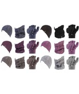 Heat Holders - Womens Thermal Winter Hat Neck Warmer and Converter Glove... - $46.09
