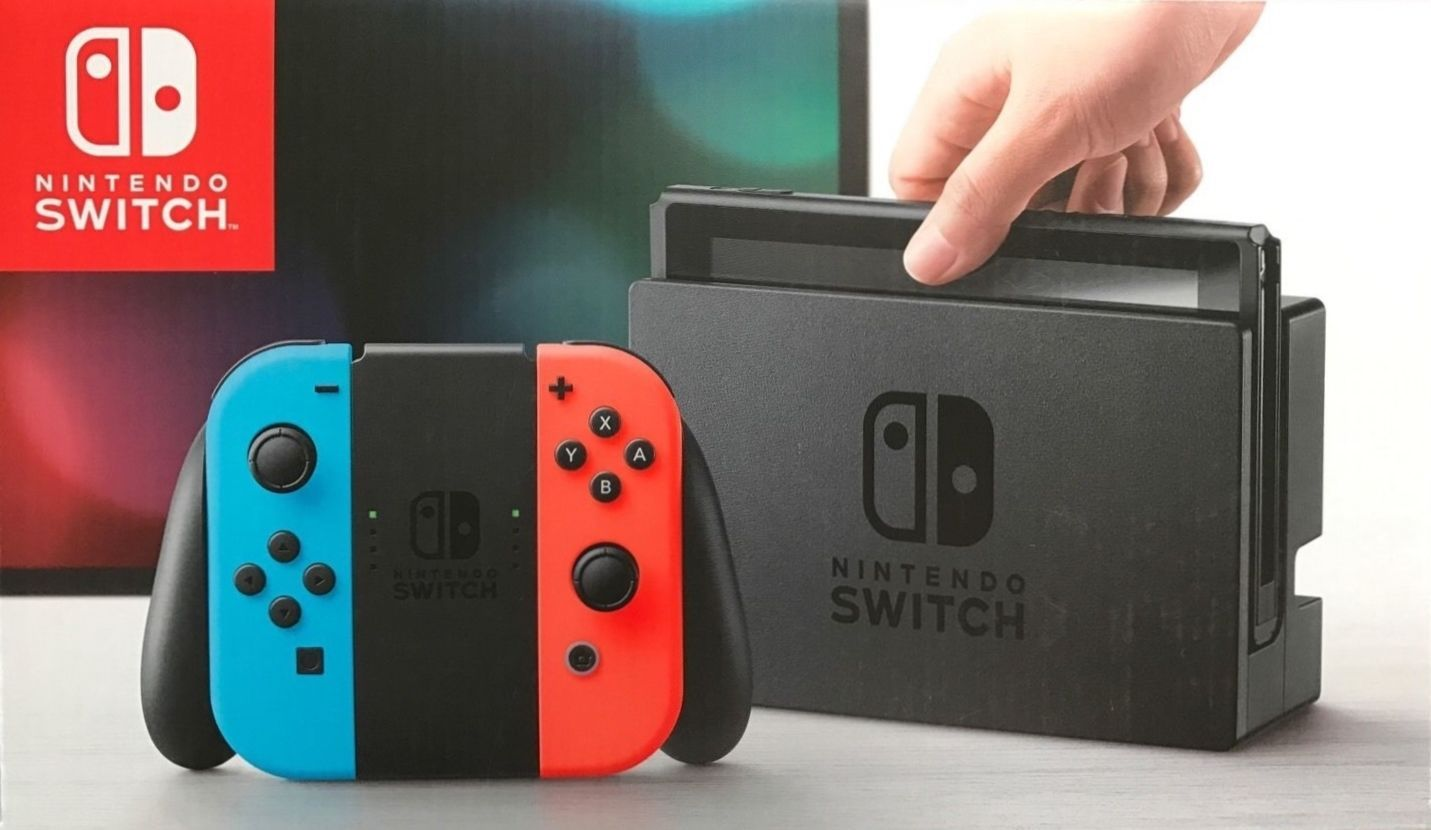 Nintendo Switch 32GB Neon Red/Neon Blue Joy-Con Brand New Ships Ultra Fast