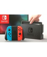 Nintendo Switch 32GB Neon Red/Neon Blue Joy-Con Brand New Ships Ultra Fast - $539.94