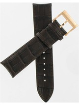 Hamilton 22/20mm Brown Leather American Classic JazzMaster Watch Band H6... - $178.20