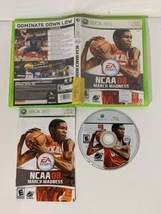 NCAA March Madness 08 Microsoft Xbox 360 2008 Basketball Complete - $32.71
